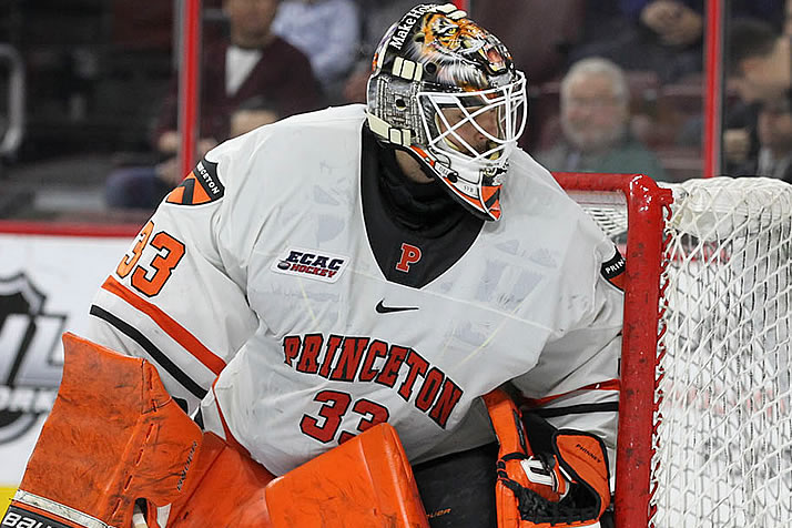 ECAC: Notes - Phinney Leads Princeton