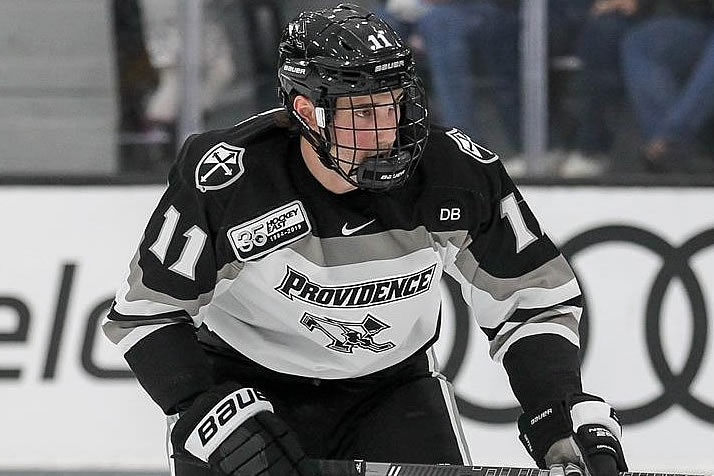 low priced 84c22 e5bd0 Printz Eyes Another Title - College Hockey, Inc.