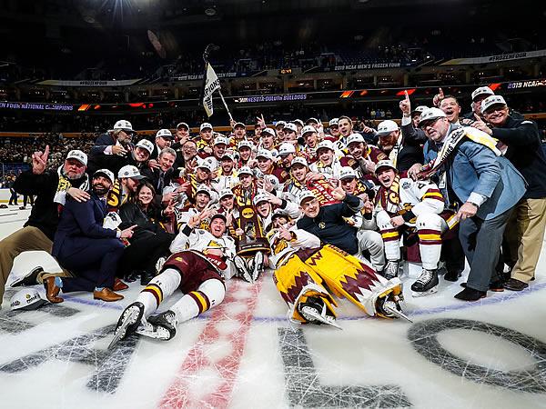 ncaa hockey tournament 2019 results